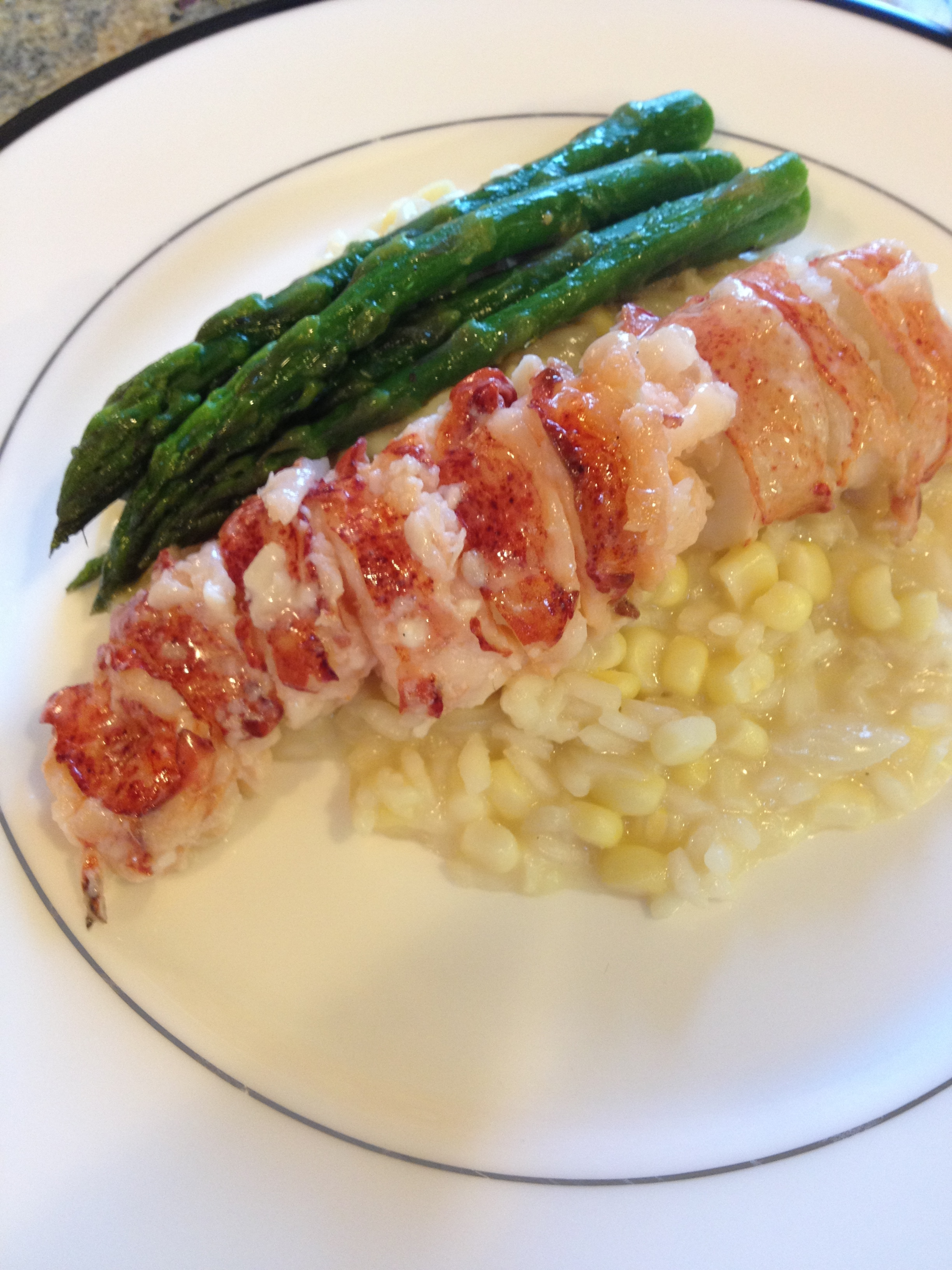 Poached Lobster With Vegetable Macedonia Recipe — Dishmaps