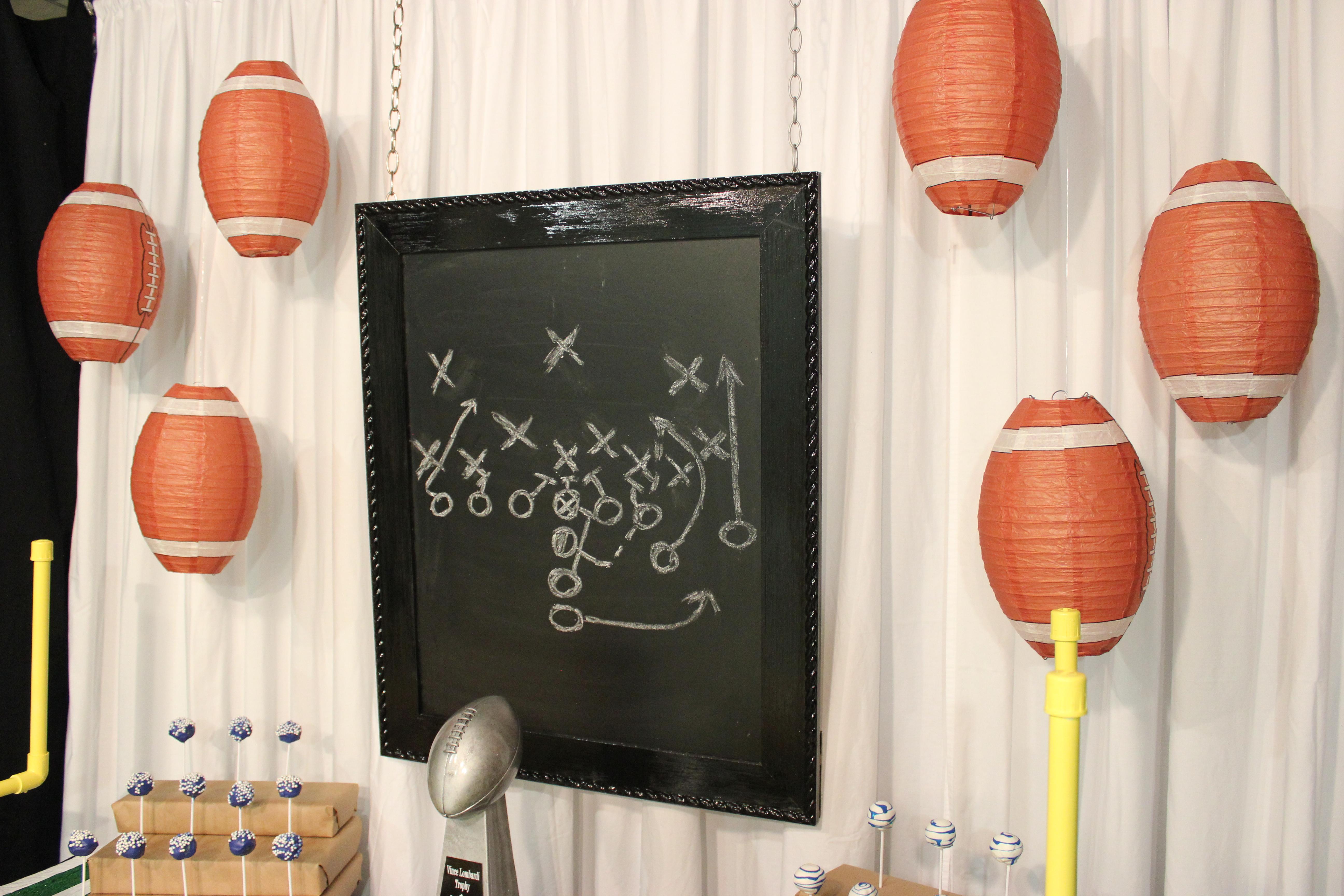 IMG_2089 - Chalkboard and Lanterns