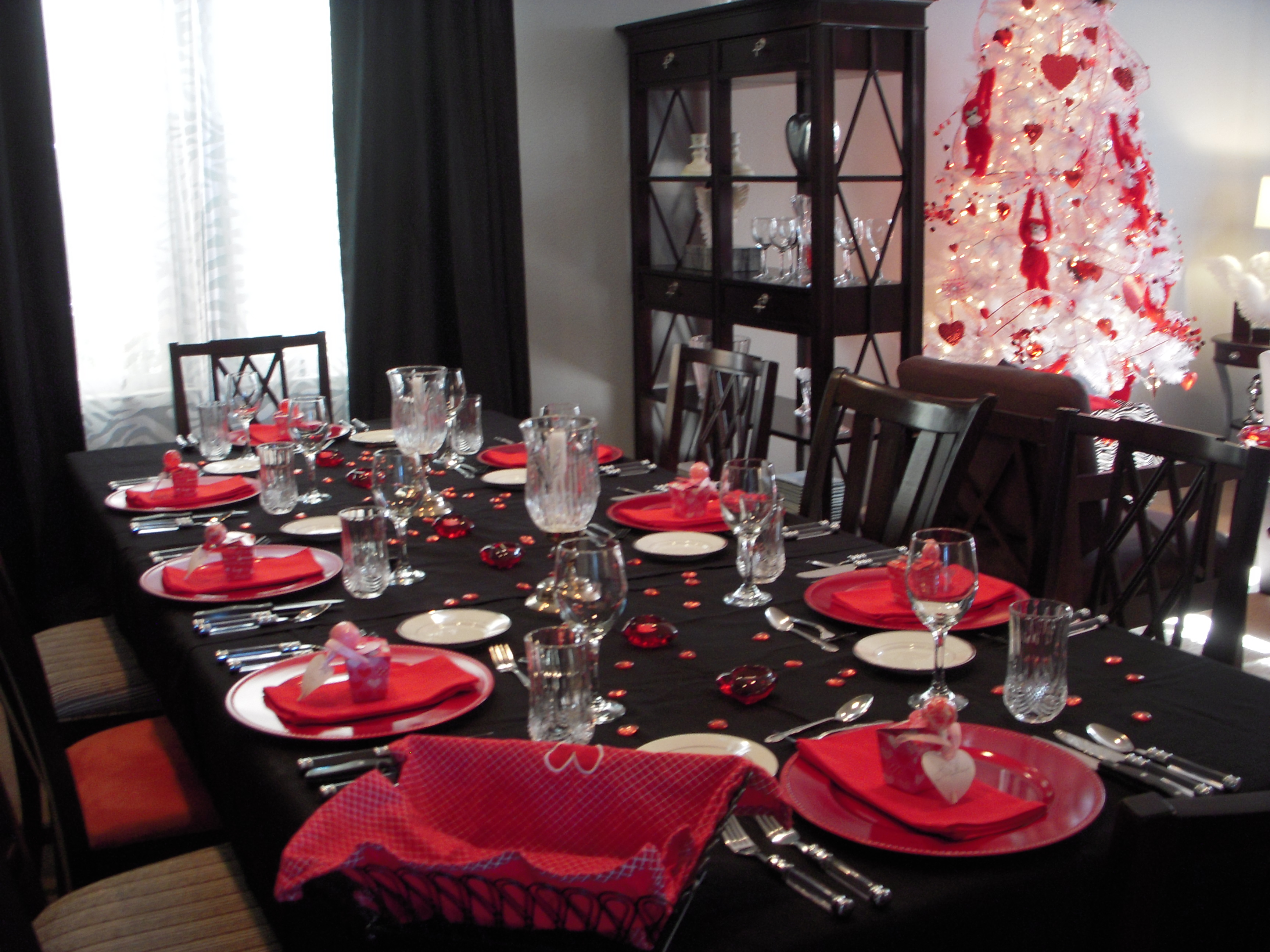 I have zebra plates in round and square so I just added them to a red charger plate. You can make anything into a place card so I used Chinese take-out ... & Wild About Youu201d Happy Valentineu0027s Day u2013 He Hunts She Cooks