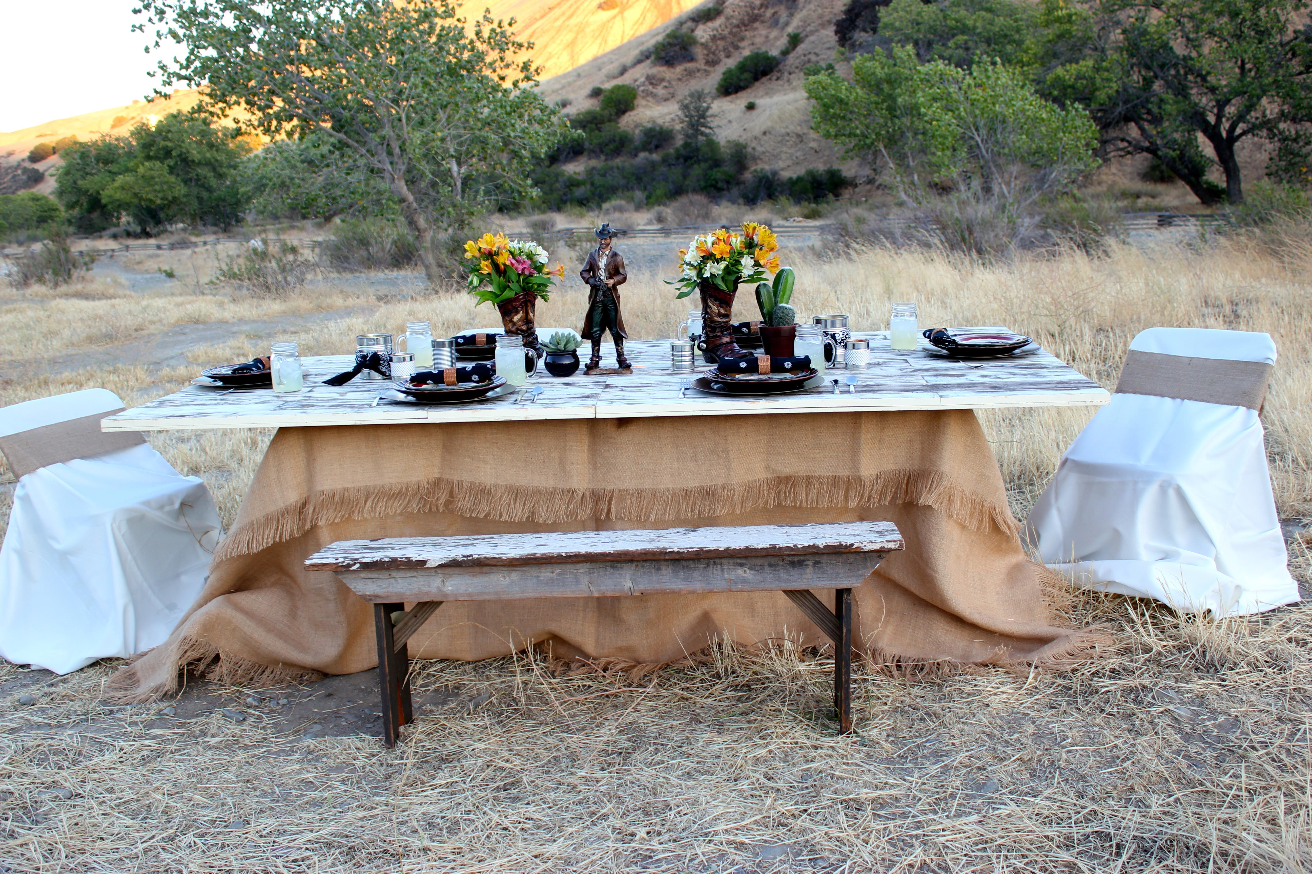 Cowboy Dan Tablescape \u2013 He Hunts She Cooks